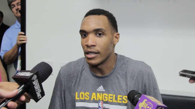 Kobe Bryant, Robert Upshaw, Byron Scott After Lakers Vs. Raptors (videos)