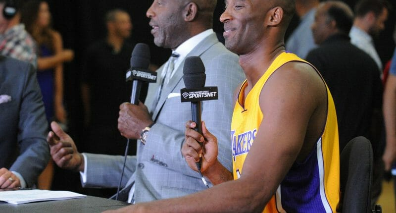James Worthy On Kobe Bryant: 'father Time Is A Hard Thing To Realize'