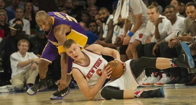 Kristaps Porzingis: 'my Favorite Player Growing Up Was Kobe Bryant'