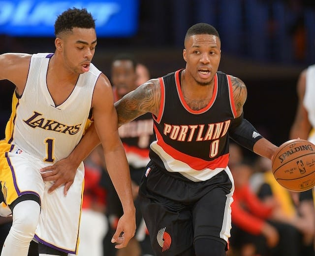 Kobe Bryant Calls Damian Lillard 'one Of The Best Players In The League'