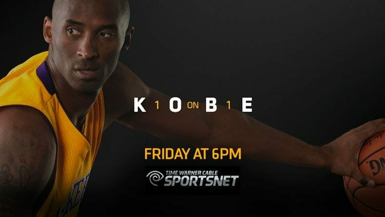 Time Warner Cable Sportsnet Goes One-on-one With Kobe Bryant (video)