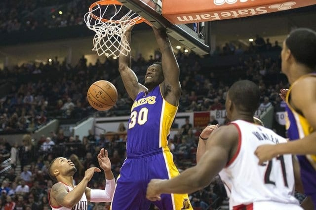 Game Recap: Young Lakers Show Improvement, But Still Fall To Blazers
