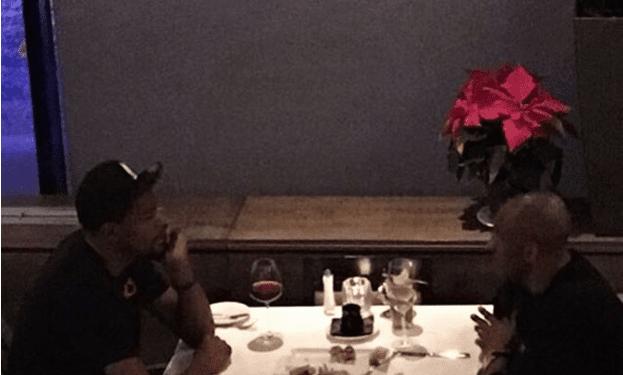 Kobe Bryant, Kevin Durant Have Dinner Before Lakers-thunder (photo)