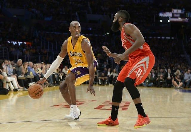 James Harden On Kobe Bryant: 'i've Admired Him Since I Was Growing Up'