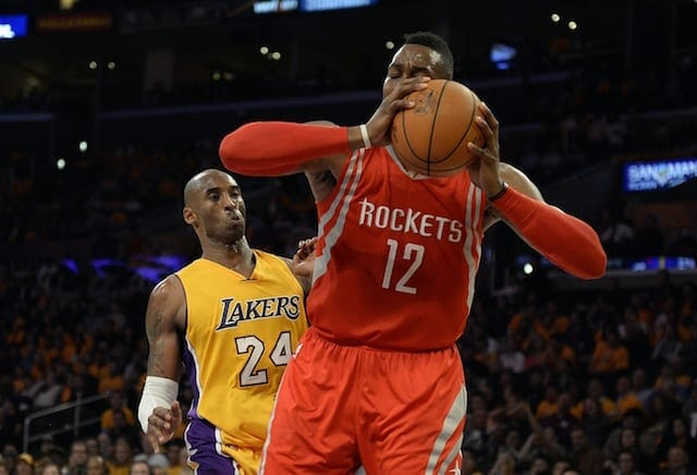 Kobe Bryant, Dwight Howard, Lakers, Rockets