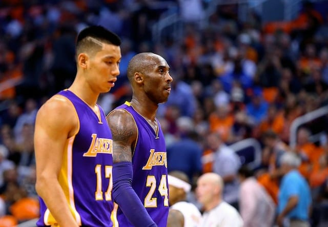 Lakers News: Jeremy Lin 'glad' Kobe Bryant Is Getting Farewell Tour