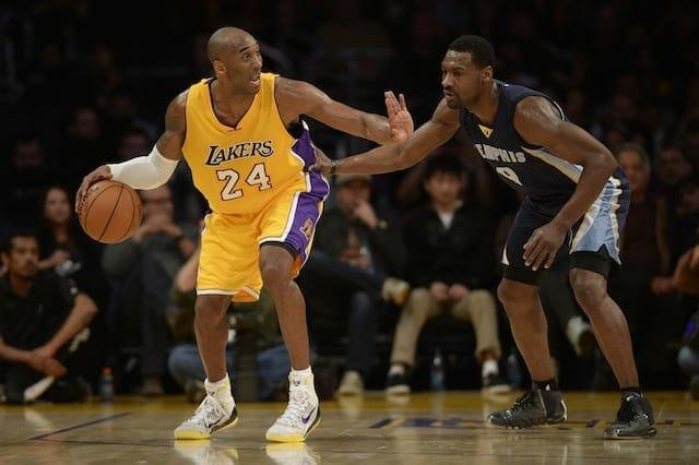 Lakers News: Kobe Bryant Praises Tony Allen's Defense
