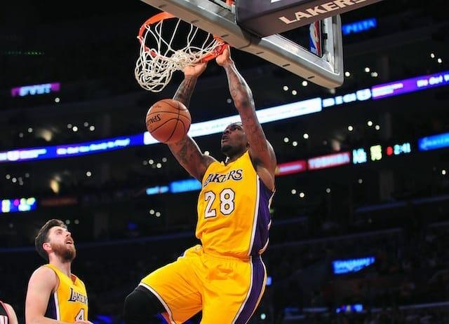 Lakers Rumors: Tarik Black Suffering From Minor Ankle Injury