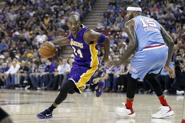 Demarcus Cousins On Kobe Bryant: 'hate To See Him Go'