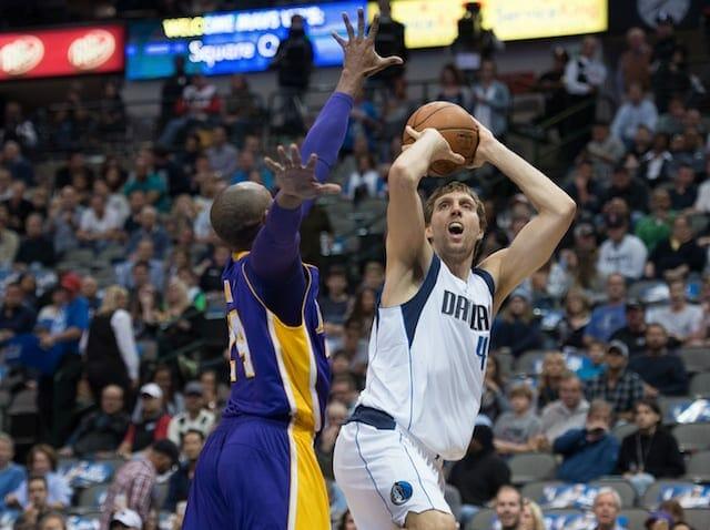 Dirk Nowitzki On Kobe Bryant: 'probably The Greatest Player I've Faced'