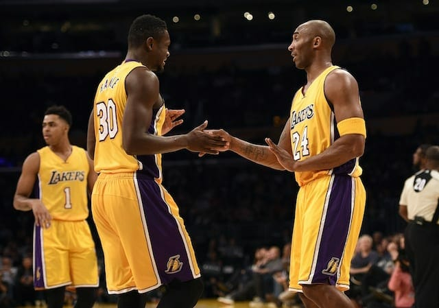 Julius Randle Not Fazed By Star Opponents Because Of Kobe Bryant