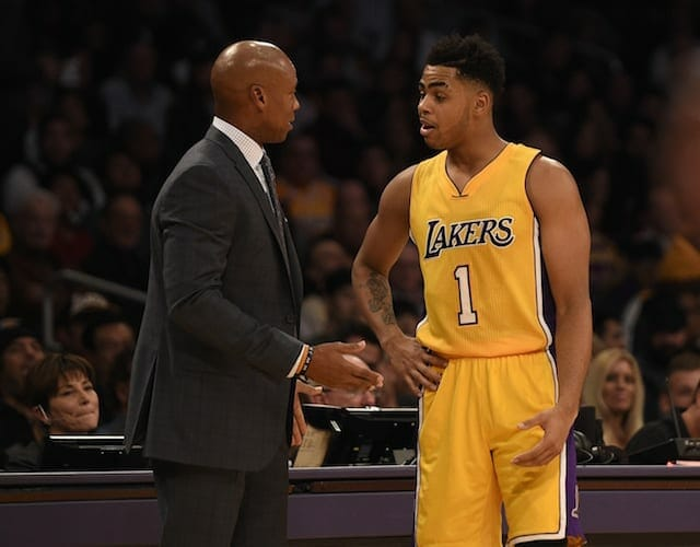 Byron Scott Has Not Spoken To D'angelo Russell, Julius Randle About Benching