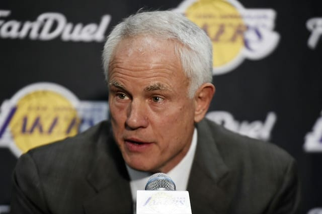 Mitch Kupchak: Lakers Must Develop Identity For Free Agents To Consider Them