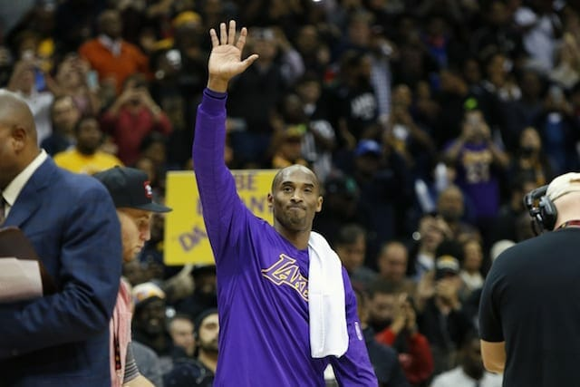 Game Recap: Lakers Lose To Hawks In Kobe Bryant's Final Game In Atlanta