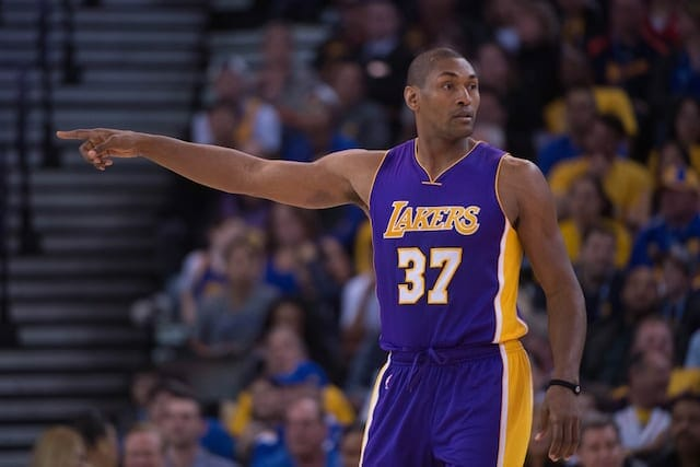 Lakers News: Metta World Peace 'definitely' Interested In Coaching