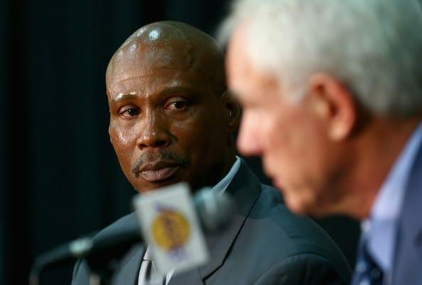 Lakers News: Byron Scott Met With Mitch Kupchak To Discuss Development Plan