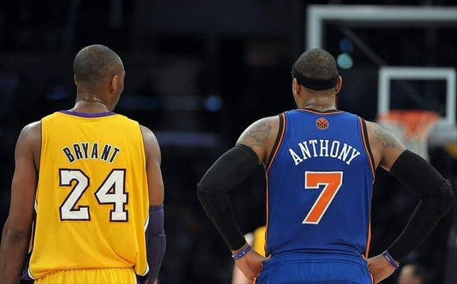 Carmelo Anthony Considered Lakers For Chance To Play With Kobe Bryant