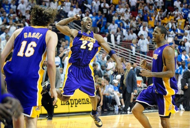 Kobe Bryant: 2008-09 Lakers 'most Fun I've Ever Had Playing On A Team'