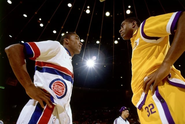Magic Johnson: Isiah Thomas Better Than Stephen Curry, John Stockton