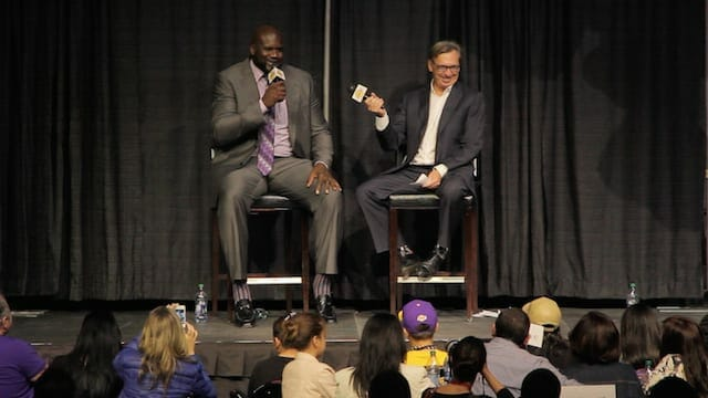 Shaquille O'neal Talks Kobe Bryant, Lakers Future (videos)