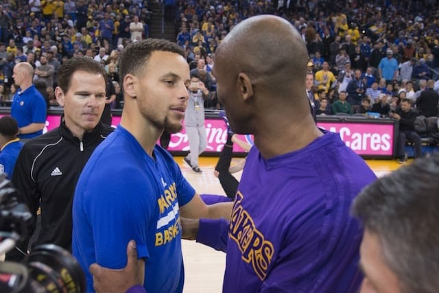 Stephen Curry: Nba In 'much Better Place' Due To Kobe Bryant