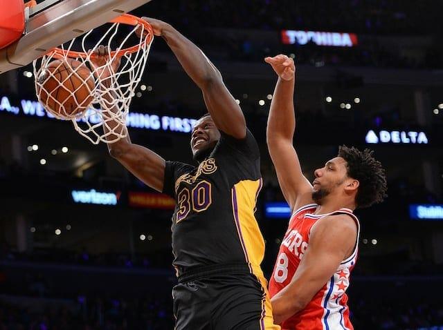 Lakers Nation Roundtable: Should Larry Nance Jr. Lose Starting Spot To Julius Randle