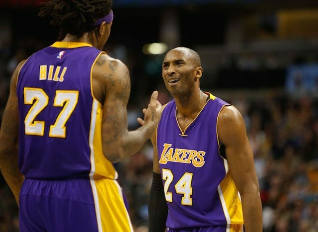 Jordan Hill: 'not A Lot Of People Can Handle' Kobe Bryant's Trash Talking