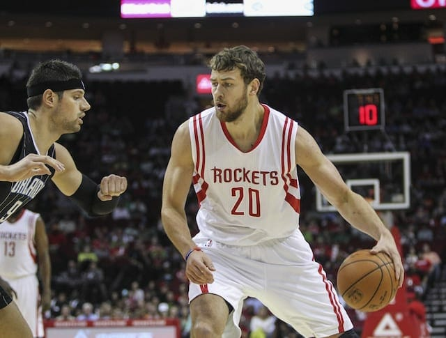 Nba News: Pistons Acquire Donatas Motiejunas, Marcus Thornton From Rockets