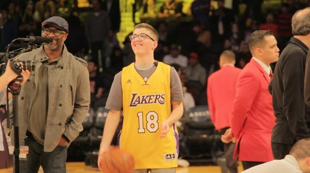 Lakers Sign Yitzi Teichman, Battling Brain Cancer, To One-day Contract