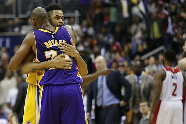 Kobe Bryant's Message To D'angelo Russell: 'you Got To Just Play'