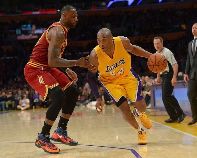 Lakers News: Kobe Bryant On Not Playing Lebron James In Nba Finals