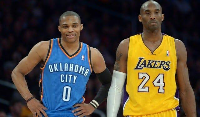Kobe Bryant Sees 'a Ton' Of Similarities Between Himself, Russell Westbrook