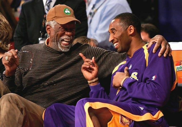 Kobe Bryant Says Bill Russell Mentored Him About Managing Teammates