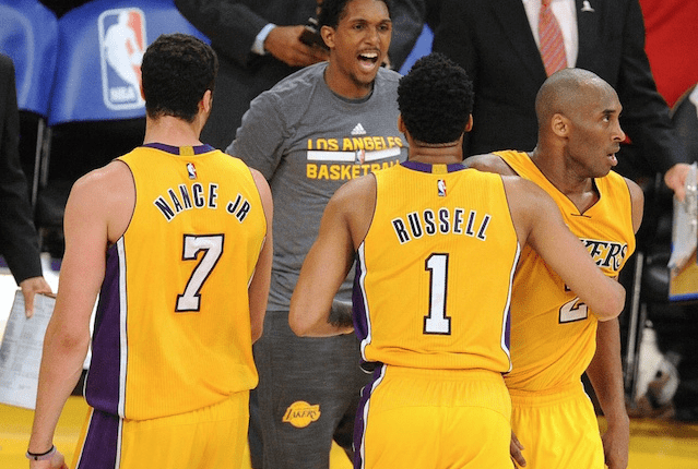 Kobe Bryant Says He Will Be Working With The Young Lakers This Summer