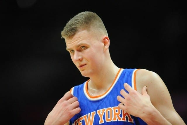 Kobe Bryant Calls Kristaps Porzingis 'brilliant Pick' For Knicks