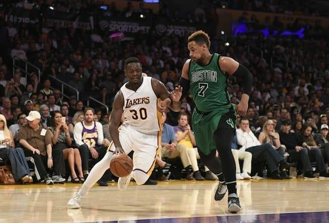 Los Angeles Lakers Vs Boston Celtics Nba Highlights