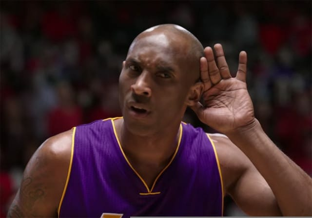 Video: Nike Releases New Kobe Bryant Commercial Entitled 'the Conductor'