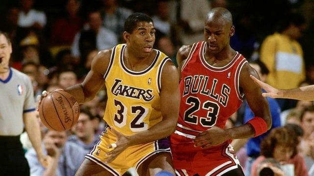 Lakers Legend Magic Johnson Recalls Unwise Decision To Trash-talk Michael Jordan
