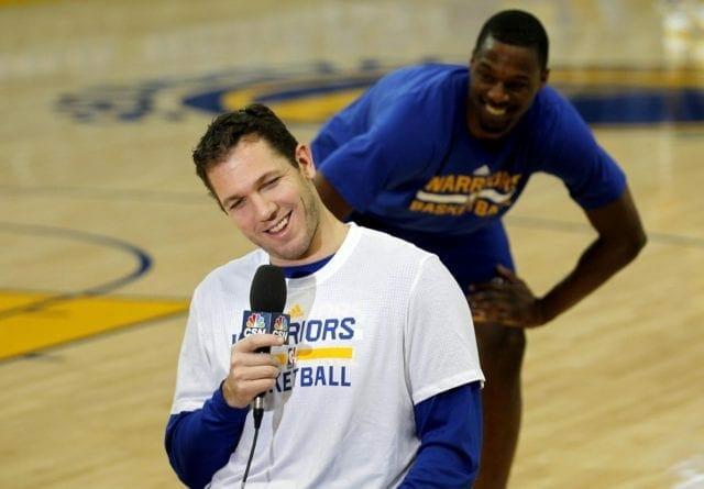 Snapchat: Mo Speights Calls Harrison Barnes, Festus Ezeli 'future Lakers'