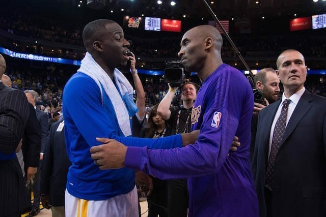 Video: Kobe Bryant Sends Text To Draymond Green After Warriors Loss