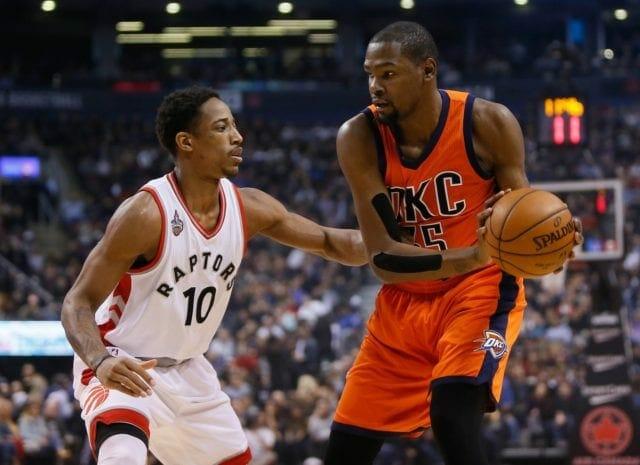 Magic Johnson: Lakers Should Pursue Kevin Durant, Demar Derozan In Free Agency