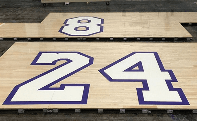 Piece Of Staples Center Floor From Kobe Bryant's Last Game Sells For Big Money