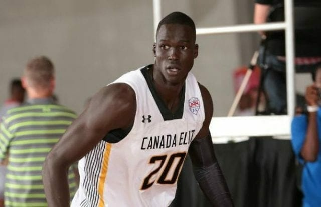 Lakers Draft News: L.a. Interviews Seven-footer Thon Maker