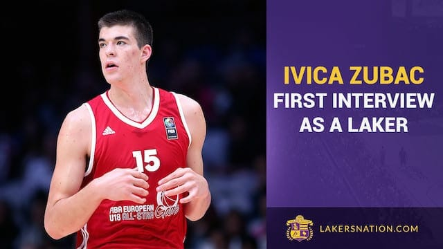 Ivica Zubac's First Interview As A Laker (audio)