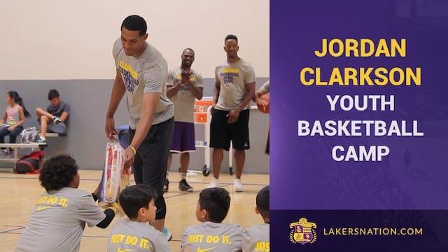 Jordan Clarkson Jc6 Nike Basketball Camp (video)