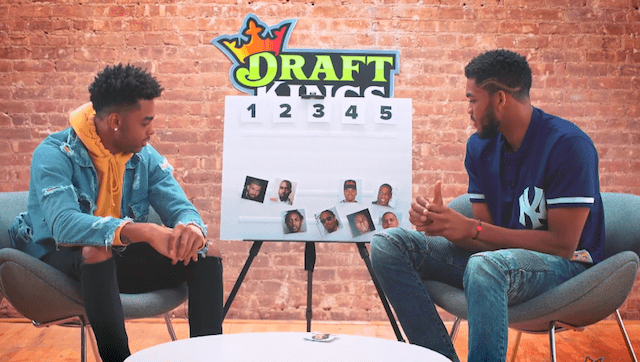 Video: D'angelo Russell, Karl-anthony Towns Choose Their Top-5 Rappers