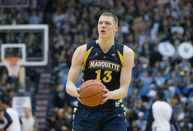 Lakers News: L.a. To Work Out Marquette Forward Henry Ellenson