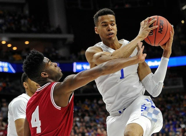 Skal Labissiere On Kobe Bryant: 'he's One Of The Most Skilled Players Ever'