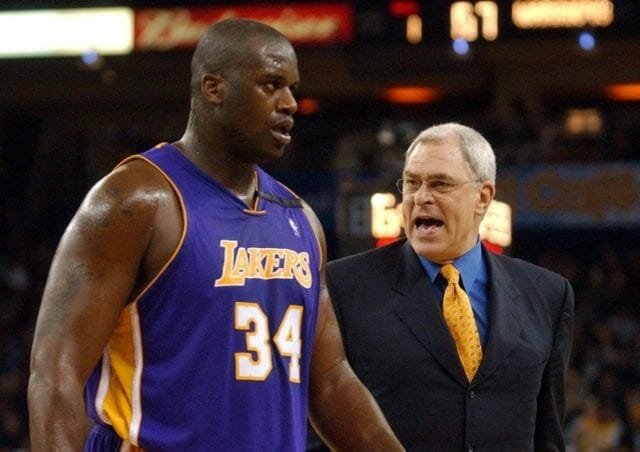 Phil Jackson: Shaquille O'neal Once 'showed Up Nude' To Lakers Practice