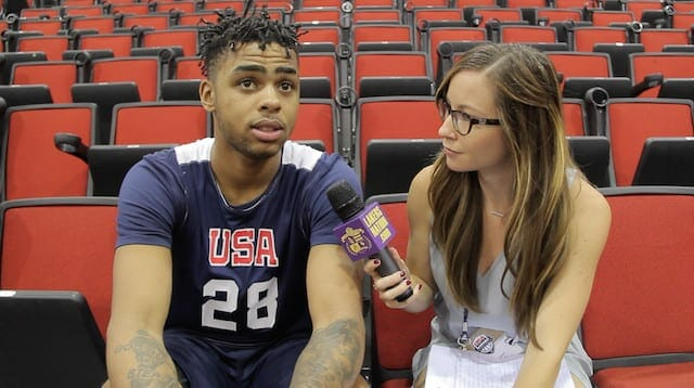 Video: D'angelo Russell On Carmelo Anthony, Popovich, Team Usa